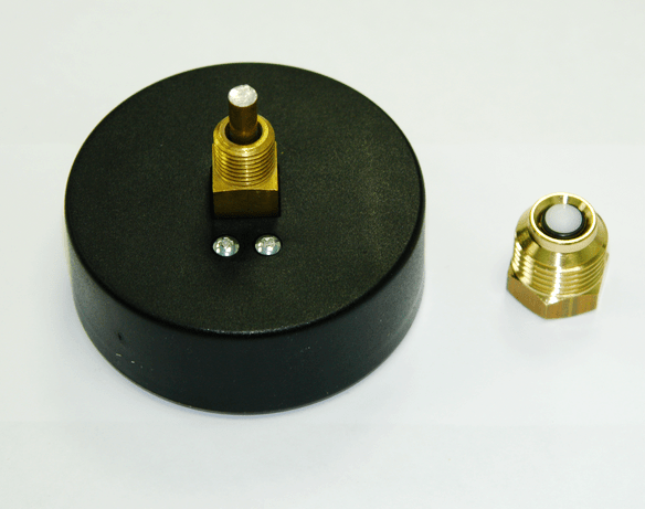 Термоманометр аксиальный WATTS F+R818, 4 bar, 120°С