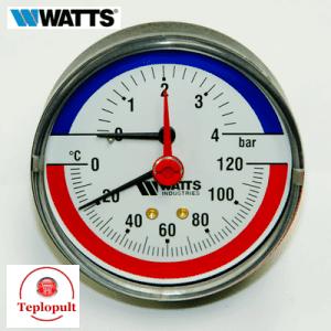 Термоманометр аксіальний