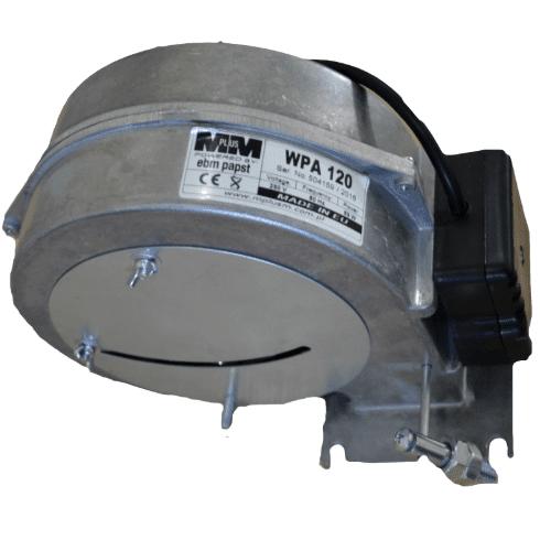 Вентлятор WPA-120 с заслонкой