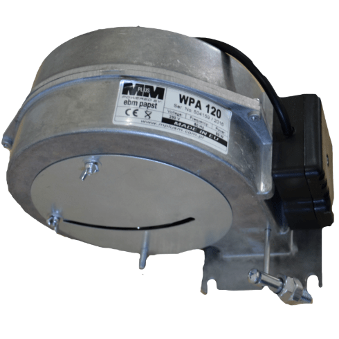 Вентлятор WPA-120 з заслонкою