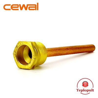 Гільза для датчика температури (діаметр -7/8мм), 10 см, 1/2″