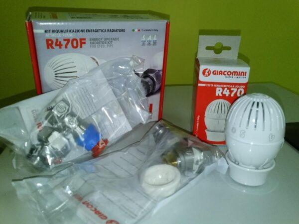 Радіаторний комплект R470FХ003 прямий