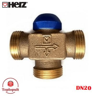 Распределительный клапан HERZ Calis DN20 1″