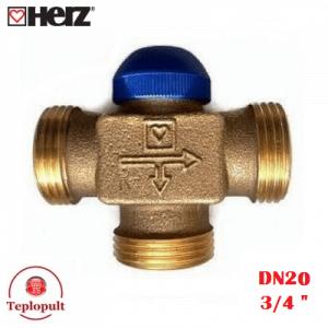 Триходовий клапан HERZ Calis DN20 3/4''