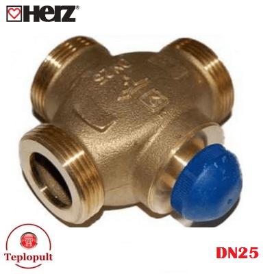 """Розподілюючий клапан HERZ Calis DN25 1 1/4"""""""
