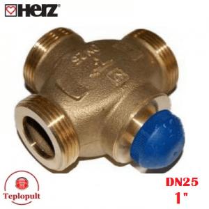 Триходовий клапан HERZ Calis DN32 1