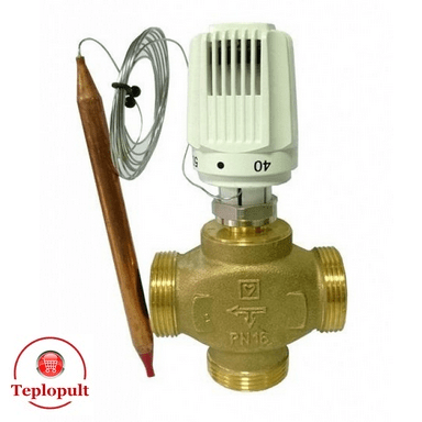 Термоголовка HERZ 1742006 (20-50°С), для теплого пола