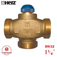 "Триходовий клапан HERZ Calis DN32 1 1/4"""