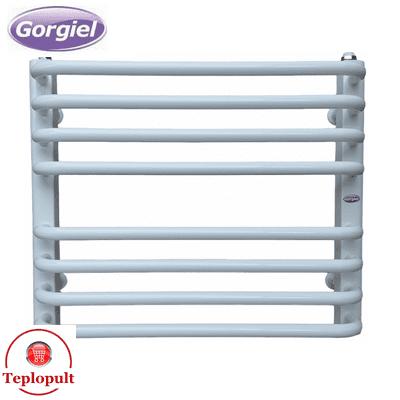 Полотенцесушитель белый Gorgiel AE – 46 /44 (Польша) – 8 ребер
