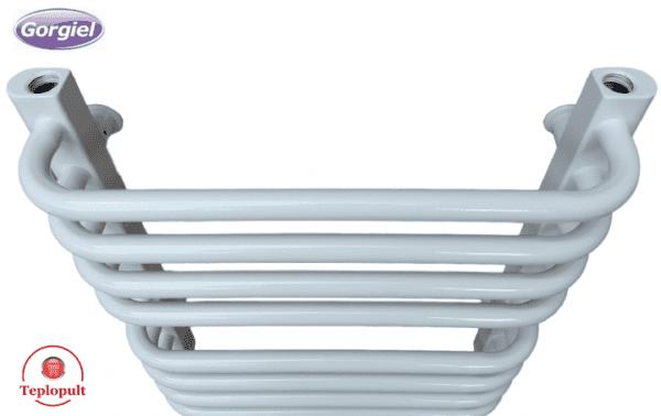 Полотенцесушитель белый Gorgiel AE – 46/56 (Польша) – 8 ребер