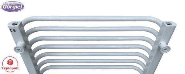 Полотенцесушитель белый Gorgiel AE – 66 /44 (Польша) – 12 ребер