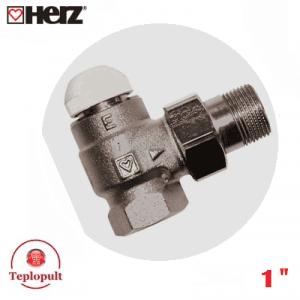 """Термоклапан HERZ-TS-E DN25 1"""", кутовий"""
