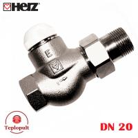 Клапан термостатический HERZ-TS-E DN20, прямой