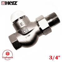 Термоклапан HERZ-TS-E DN20 3/4″, прямий