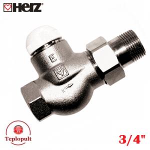 "HERZ-TS-E DN20 3/4"", прямий"