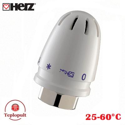 Термоголовка HERZ-MINI (25-60°С), для теплого пола