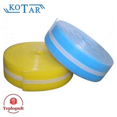 Демпферна стрічка для теплої підлоги (25м)