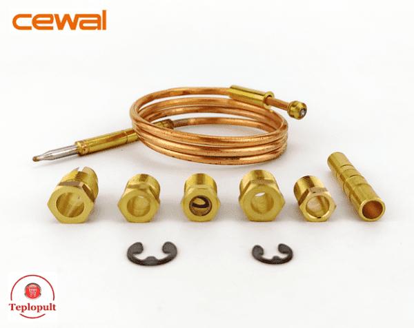Термопара Cewal TU Mini (600mm), 8 компонентів
