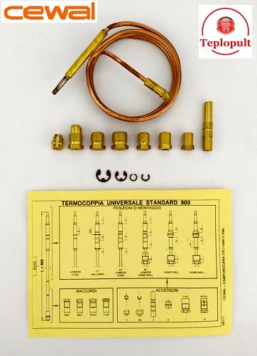 Термопара Cewal TU Standard (900mm), 13 компонентів