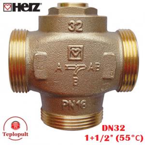 """HERZ TEPLOMIX DN32 1 1/2"""" (55°С)"""