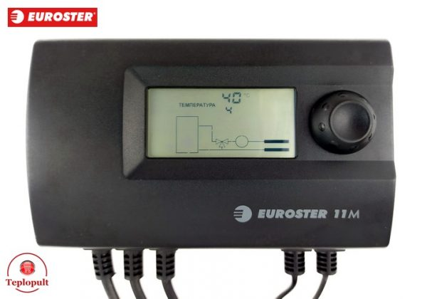 Контролер EUROSTER 11M на насос ЦО і 3-ход.клапан