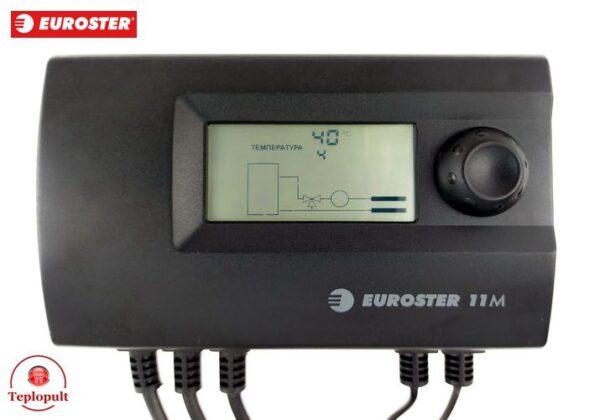 Автоматика EUROSTER 11M на насос ЦО і 3-ход.клапан