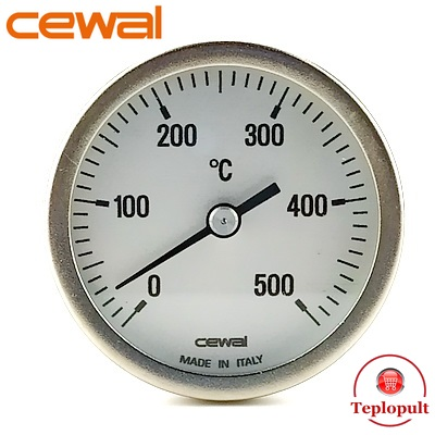 Пірометр CEWAL PSZ 63GC (Ø63mm, 0-500°C,  L-100mm)