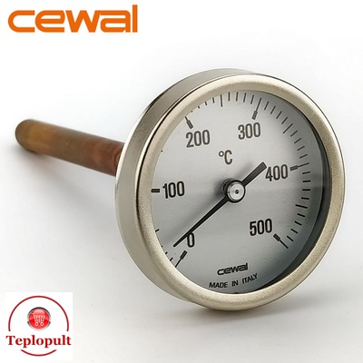 Пірометр CEWAL PSZ 63GC (Ø63mm, 0-500°C,  L-100mm)