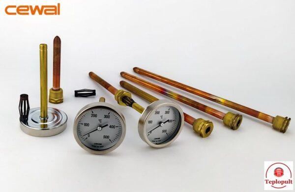 Пирометр CEWAL PSZ 63GC (Ø63mm, 0-500°C,  L-150mm)
