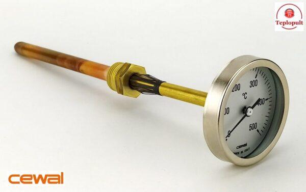 Пирометр CEWAL PSZ 63GC (Ø63mm, 0-500°C,  L-200mm)