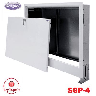 Шкаф коллекторный Gorgiel SGP-4