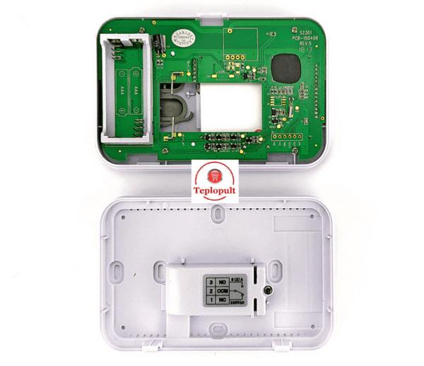 Комнатный термостат для газового котла KG Elektronik C3 проводной
