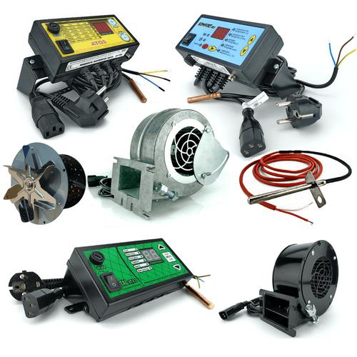 Автоматика и вентиляторы