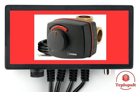 Автоматики для управления 3(4)-ходовым клапаном