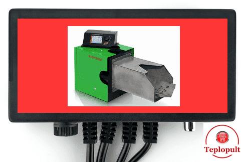 Автоматика для управління подачею палива в котел