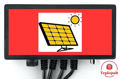 Автоматика для управління насосом сонячного колектора