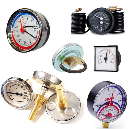 Термометри, манометри