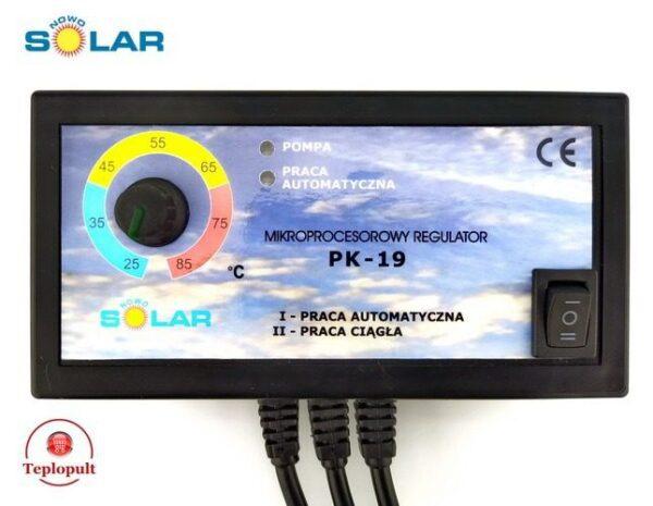Контроллер NOWOSOLAR PK-19  [для 1 насоса ЦО]