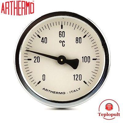 Термометр Arthermo AR-T/B 65, аксіальний, з гільзою