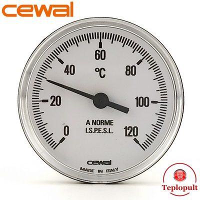 Термометр CEWAL PST 63P, аксіальний, з гільзою