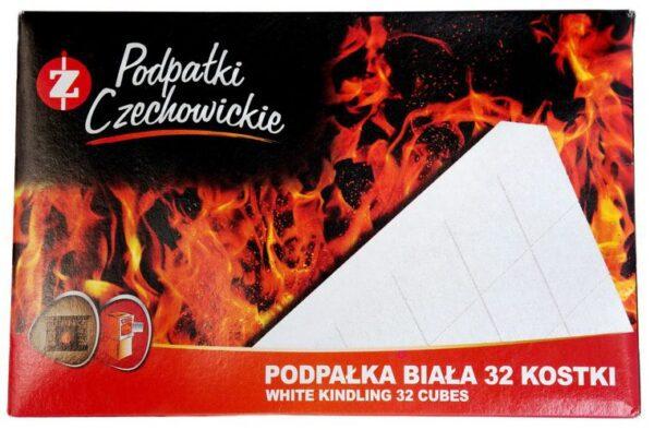 Разжигатели огня Czechowice в картонной упаковке 32 шт.