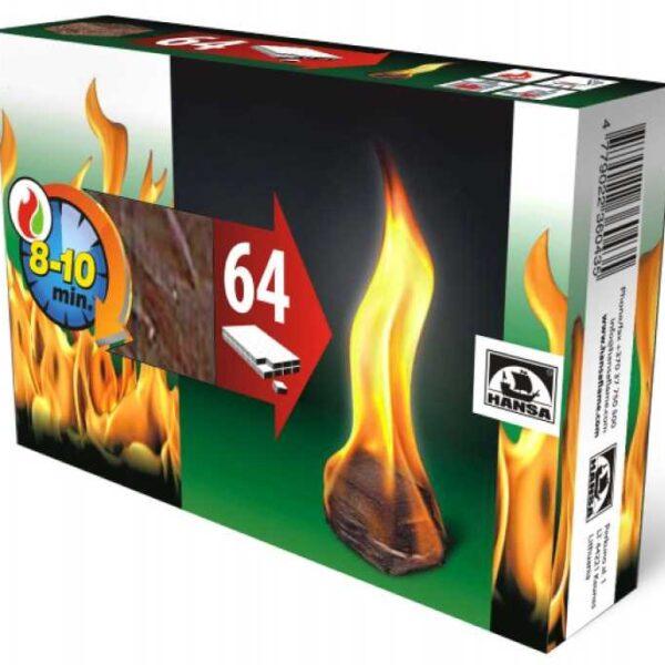 Розпалювач вогню HANSA (32 шт. в упаковці)
