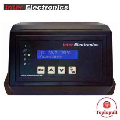 Автоматика Inter Electronics IE-70v1 T2 (на 1вент+1шнек+1нас