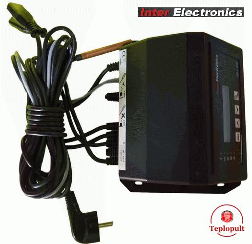 Автоматика Inter Electronics IE-70v1 T2 (на 1вент+1шнек+1нас