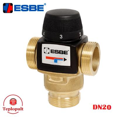 Трехходовой смесительный клапан Esbe VTA 572 20-55°C DN20 1″  (арт. 31702100)