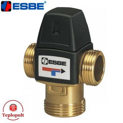 Трехходовой смесительный клапан Esbe VTA 322 30-70°C DN20 1″  (арт. 31103200)