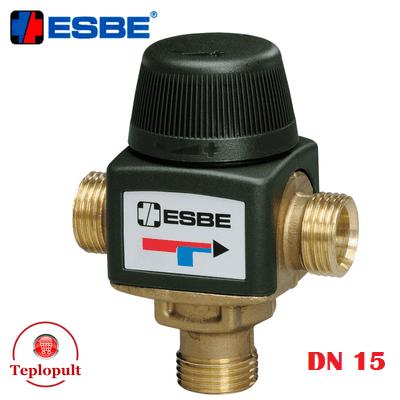 Трехходовой смесительный клапан Esbe VTA 312 35-60°C DN15 1/2″ (арт.31050200)