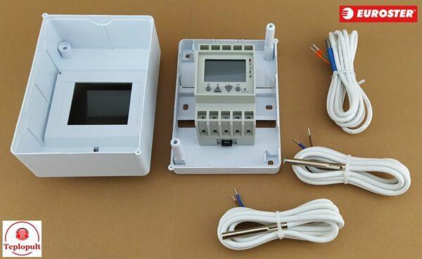 Автоматика Euroster 813 для насоса сонячного колектора