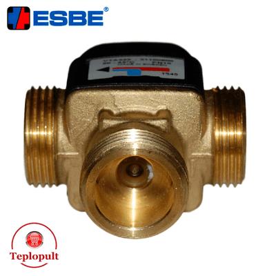 Трьохходовий змішувальний клапан Esbe VTA 322 20-43°C DN20 1″ (арт.31100900)